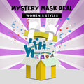 WOMEN'S FACE MASKS GRAB BAG - NON-MEDICAL (6-PACK)