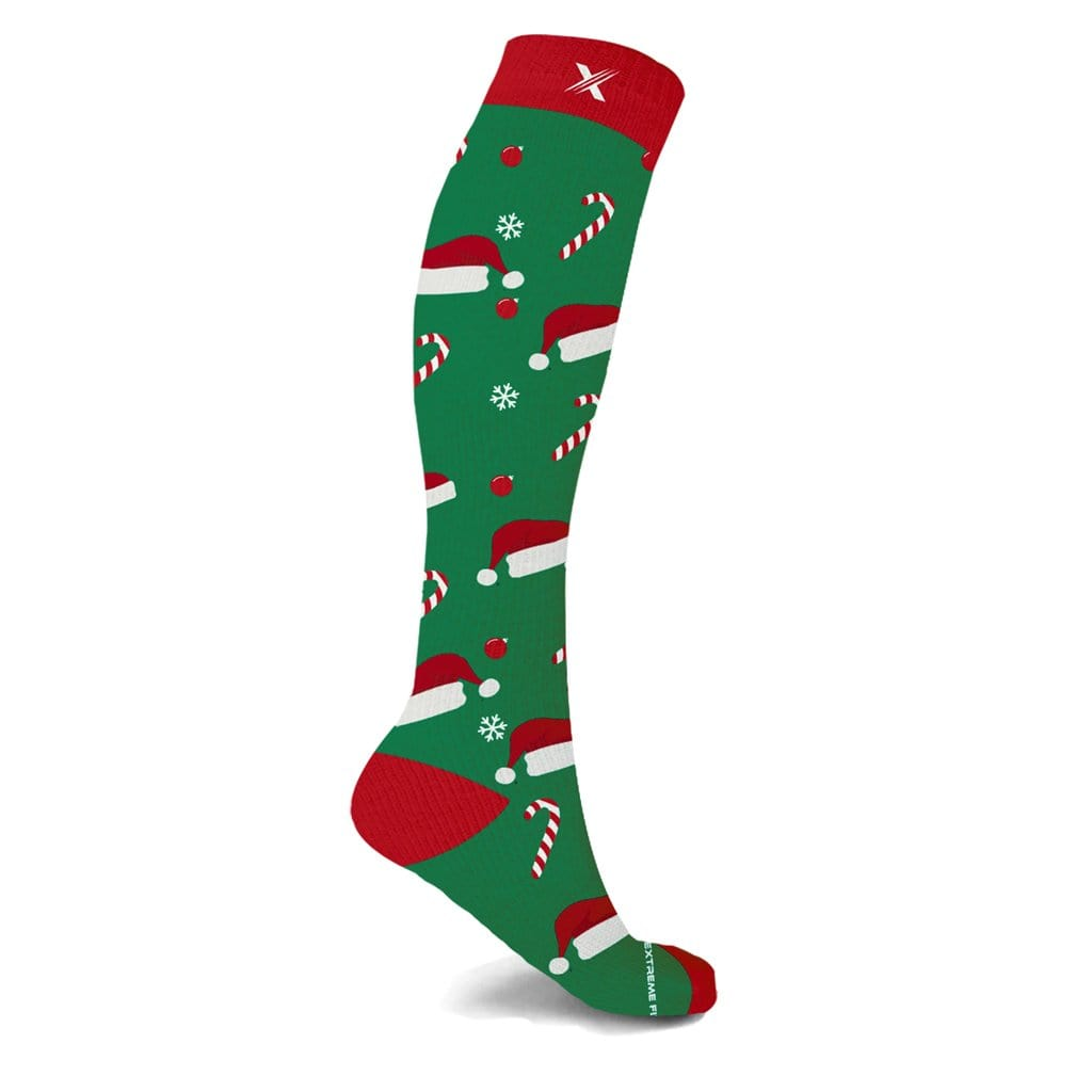 SWEET SANTA COMPRESSION SOCKS