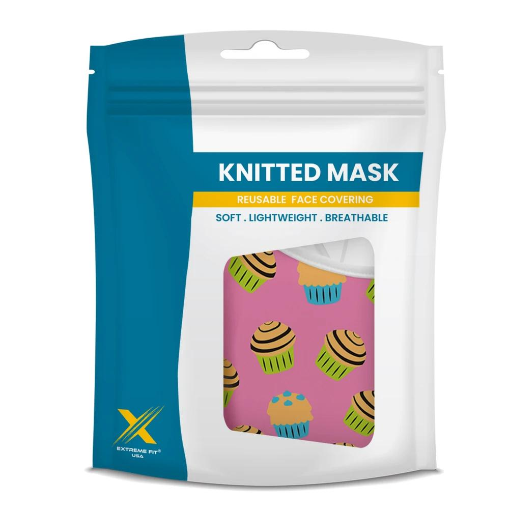 Sweet Tooth (3-Pack) - Printed Washable & Reusable Cloth Masks