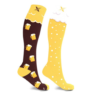 mmV3 BEER COMPRESSION SOCKS