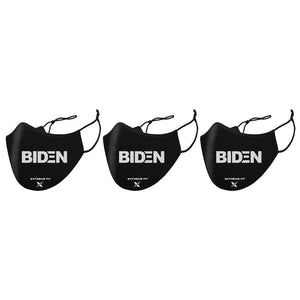 BIDEN (3-Pack) - Washable & Reusable Cloth Masks