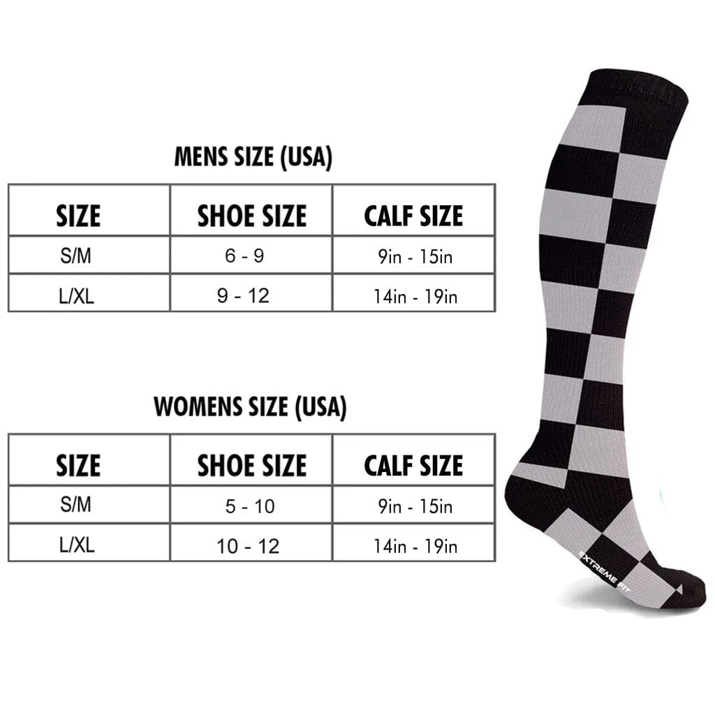 MEN'S STARTER COMPRESSION SOCKS // BLACK (3-PAIRS)