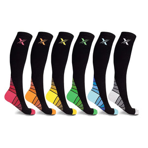 SPORTS LIGHTWEIGHT COMPRESSION SOCKS (6-PAIRS)