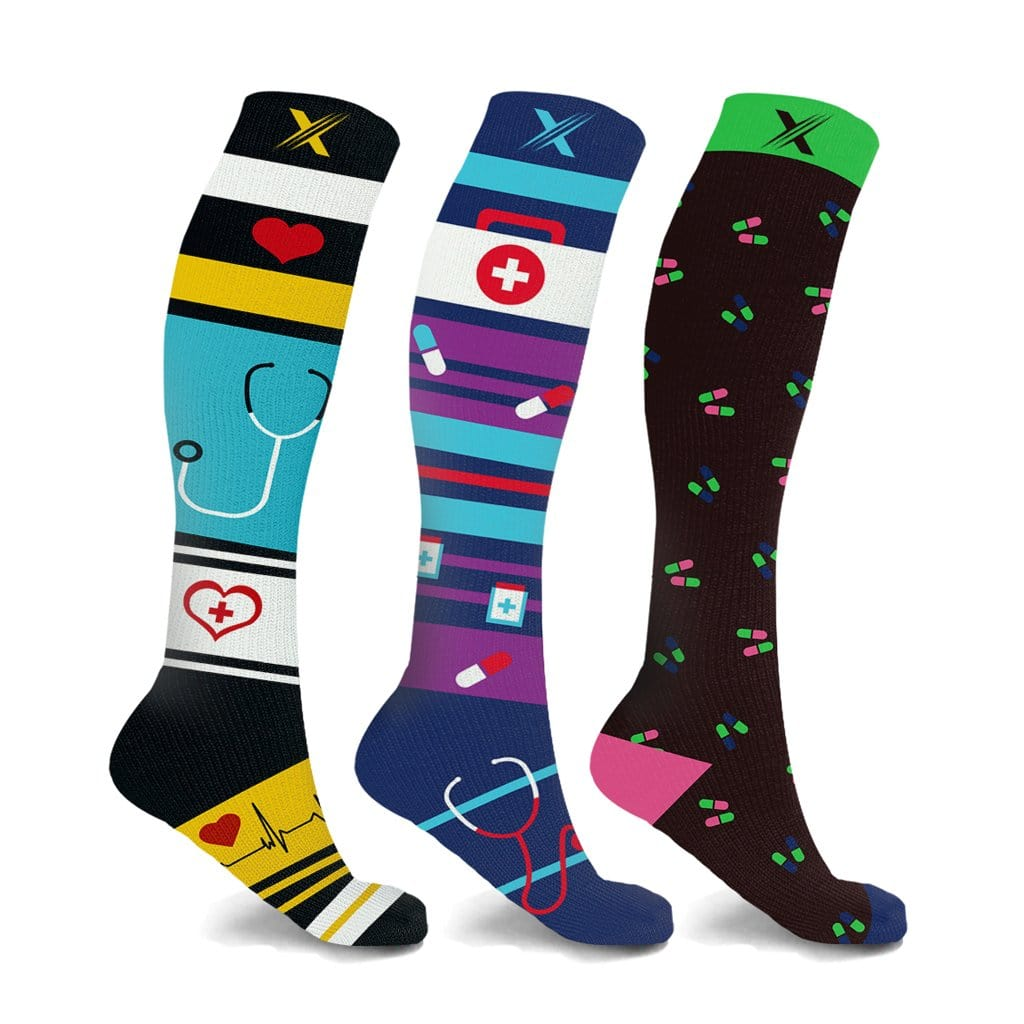 NURSE INSPIRED COMPRESSION SOCKS