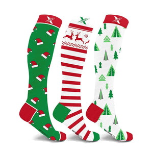 SANTA IS COMING COMPRESSION SOCKS