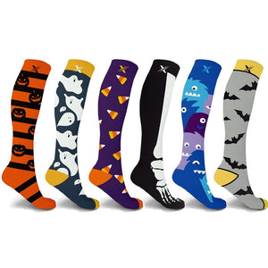 SPOOKY COLLECTION COMPRESSION SOCKS