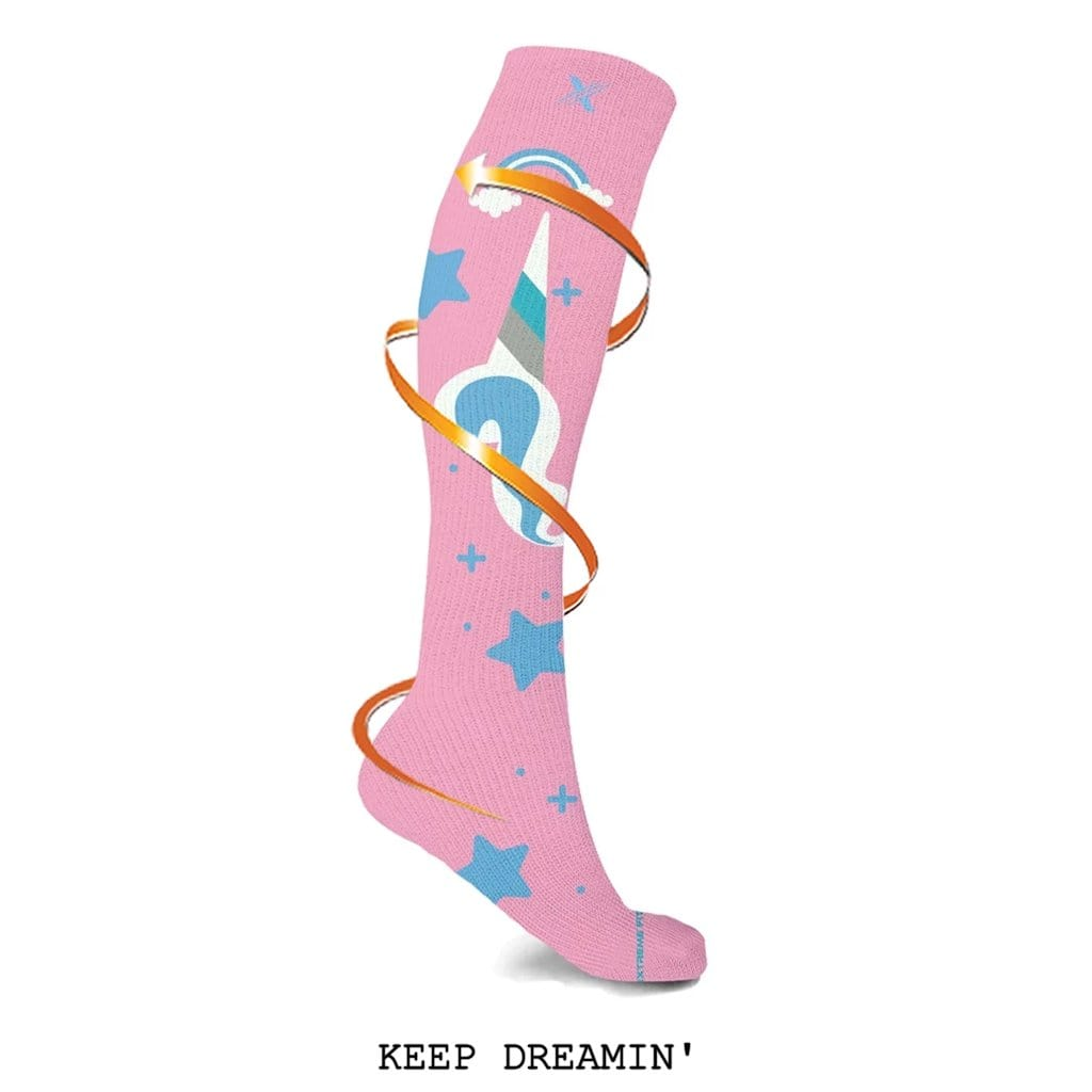 UNICORN COLLECTION COMPRESSION SOCKS (3-PAIRS)