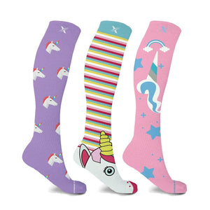 UNICORN COLLECTION COMPRESSION SOCKS