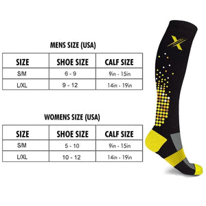 HIGH INTENSITY COMPRESSION SOCKS (6-PAIRS)
