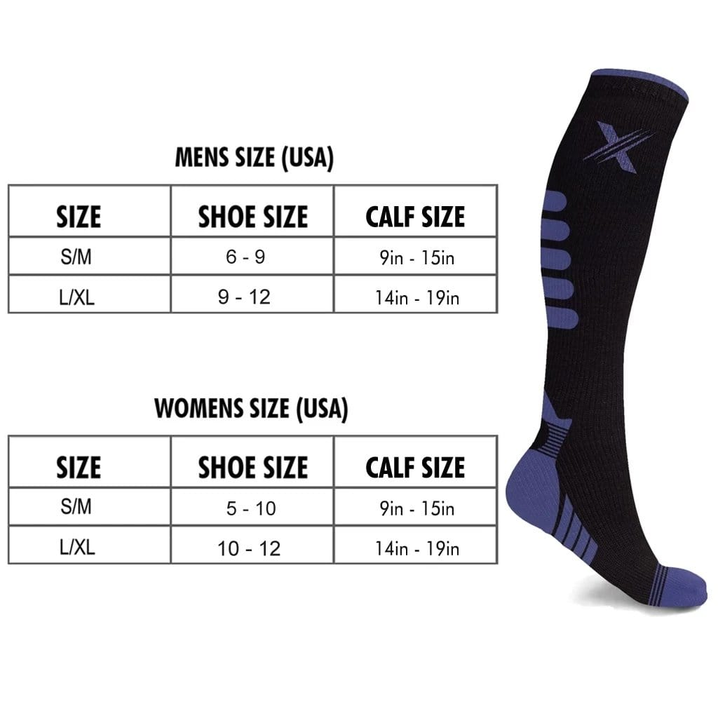 NEXUS COMPRESSION SOCKS (6-PAIRS)
