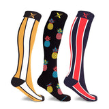 90'S STREETWEAR COMPRESSION SOCKS (3-PAIRS)