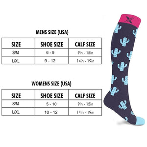 CACTUS PUZZLES COMPRESSION SOCKS