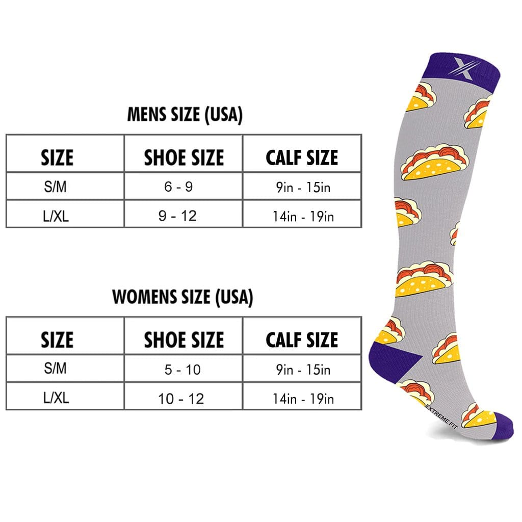 MUNCHIES COMPRESSION SOCKS (3-PAIRS)