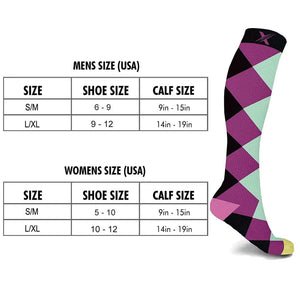 JUMBLE MUMBLE COMPRESSION SOCKS (3-PAIRS)