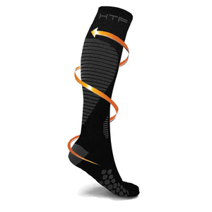 TARGETED COMPRESSION SOCKS // BLACK