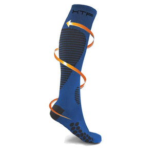 TARGETED COMPRESSION SOCKS //BLUE