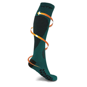 TARGETED COMPRESSION SOCKS //TEAL