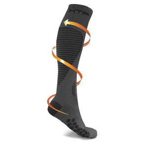 TARGETED COMPRESSION SOCKS //GRAY