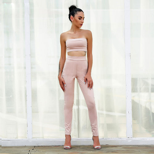 Amy Pink Two Piece - darcyroseuk