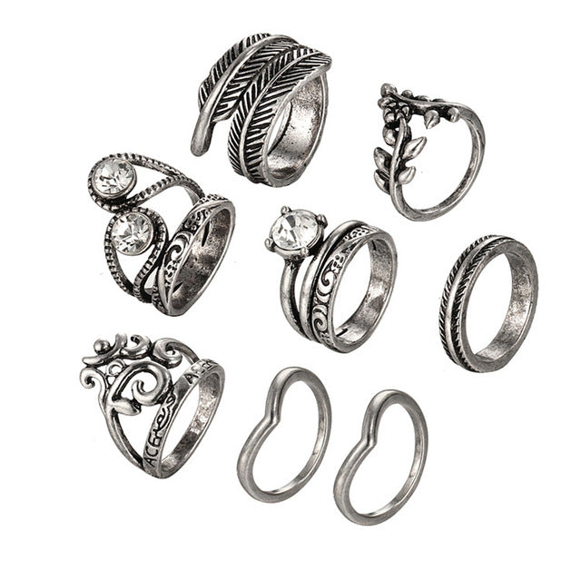 Faith Ring Set - darcyroseuk