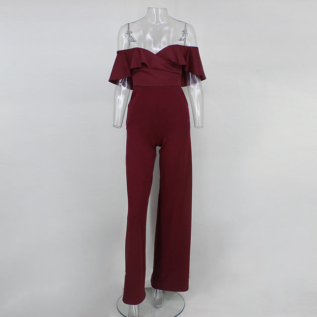 Briony Off the Shoulder Jumpsuit - darcyroseuk