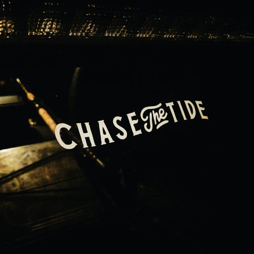 CHASE THE TIDE STICKER