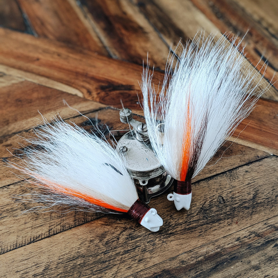 1-2-3oz Bucktail Jigs by Big Bill's Bucktails
