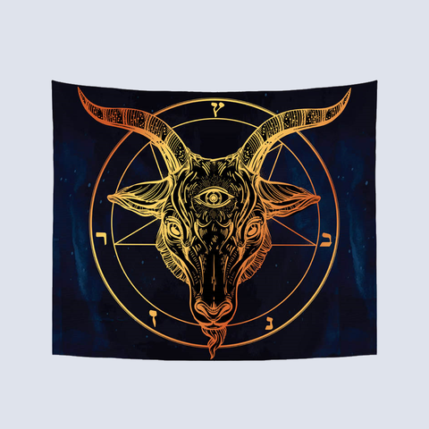 Antler Wall Hanging Tapestry