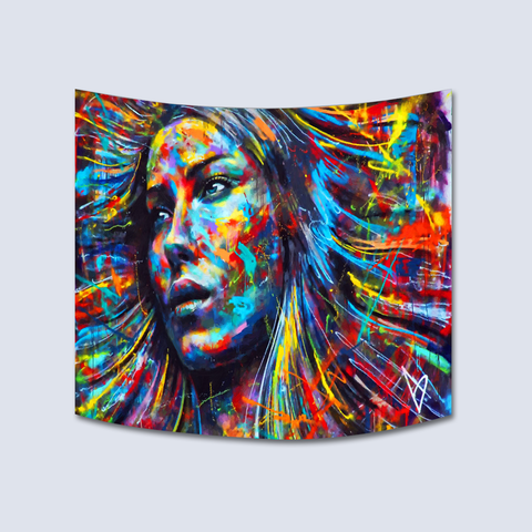 Art On Fabric Women Tapestry