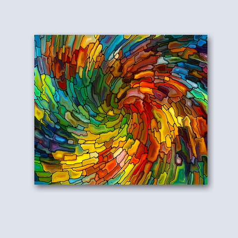 Glass Finish Tapestry