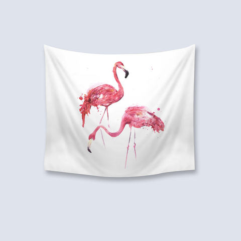 Animal Tapestry Flamingo