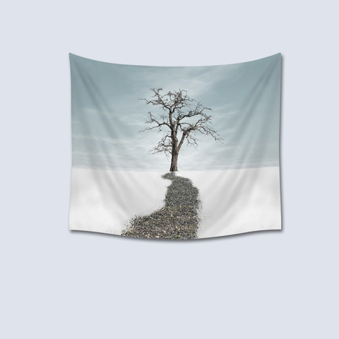 Tree of life scenic tapestry