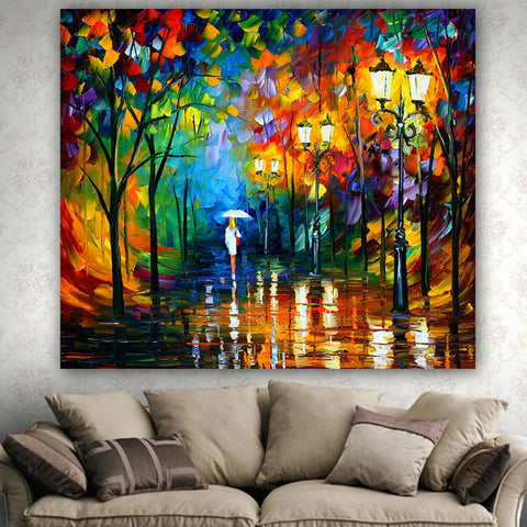 Oil Painting Fabric Tapestry