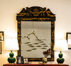 Large Chinoiserie Wall Mirror - Karavanhk