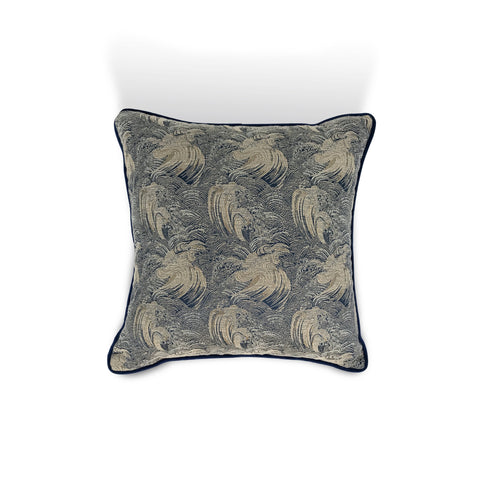 Blue Wave Cushion - Karavanhk