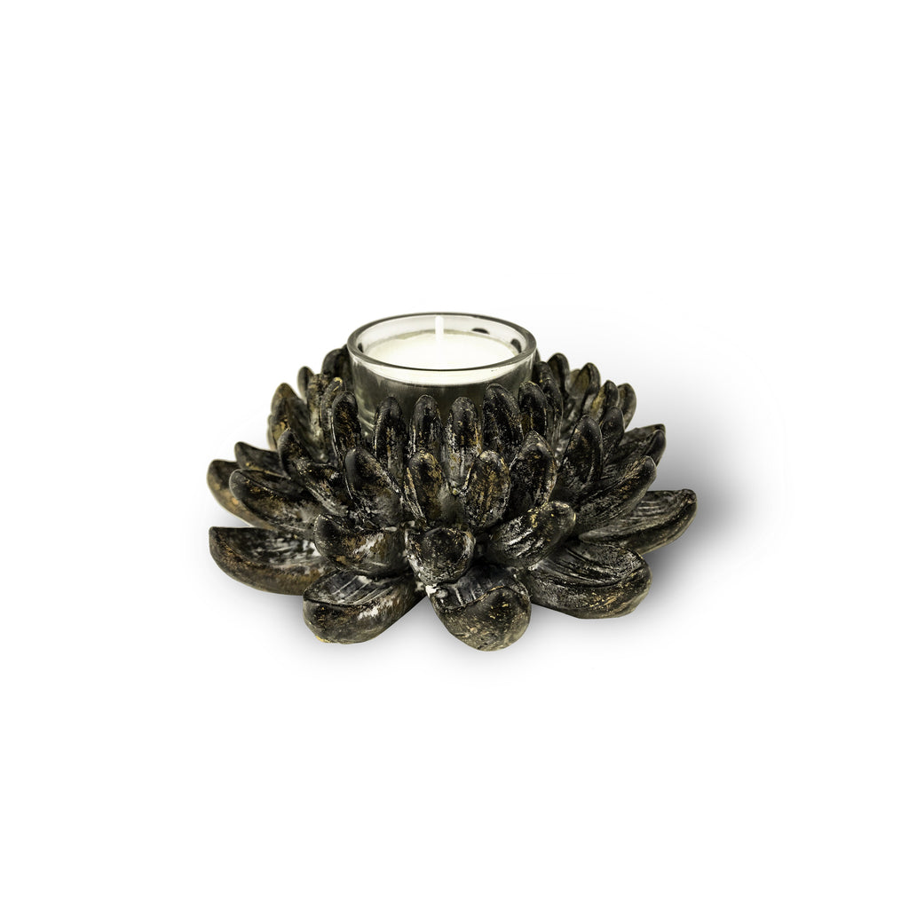 Chrysanthemum Votive candle - Karavanhk