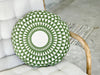 Green Round Cushion - Karavanhk