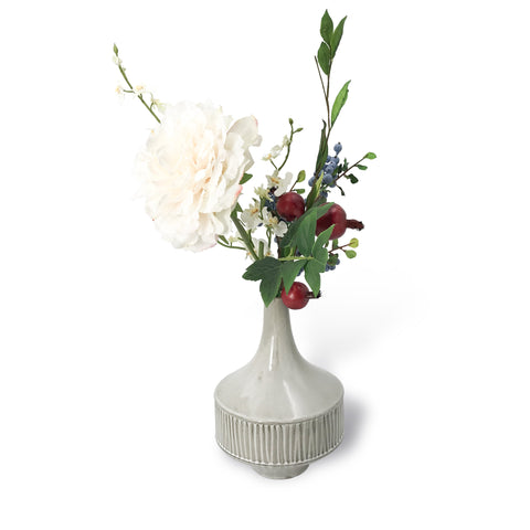 Seasonal Blooms with Vase - Karavanhk