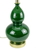 Emerald Gourd Table Lamp - Karavanhk