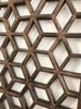 Geometric Lattice Panels, Pair - Karavanhk
