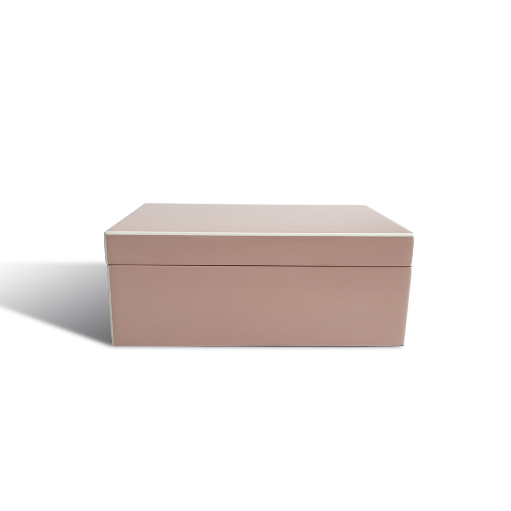 Middleton Pink Lacquer Jewellery Box - Karavanhk