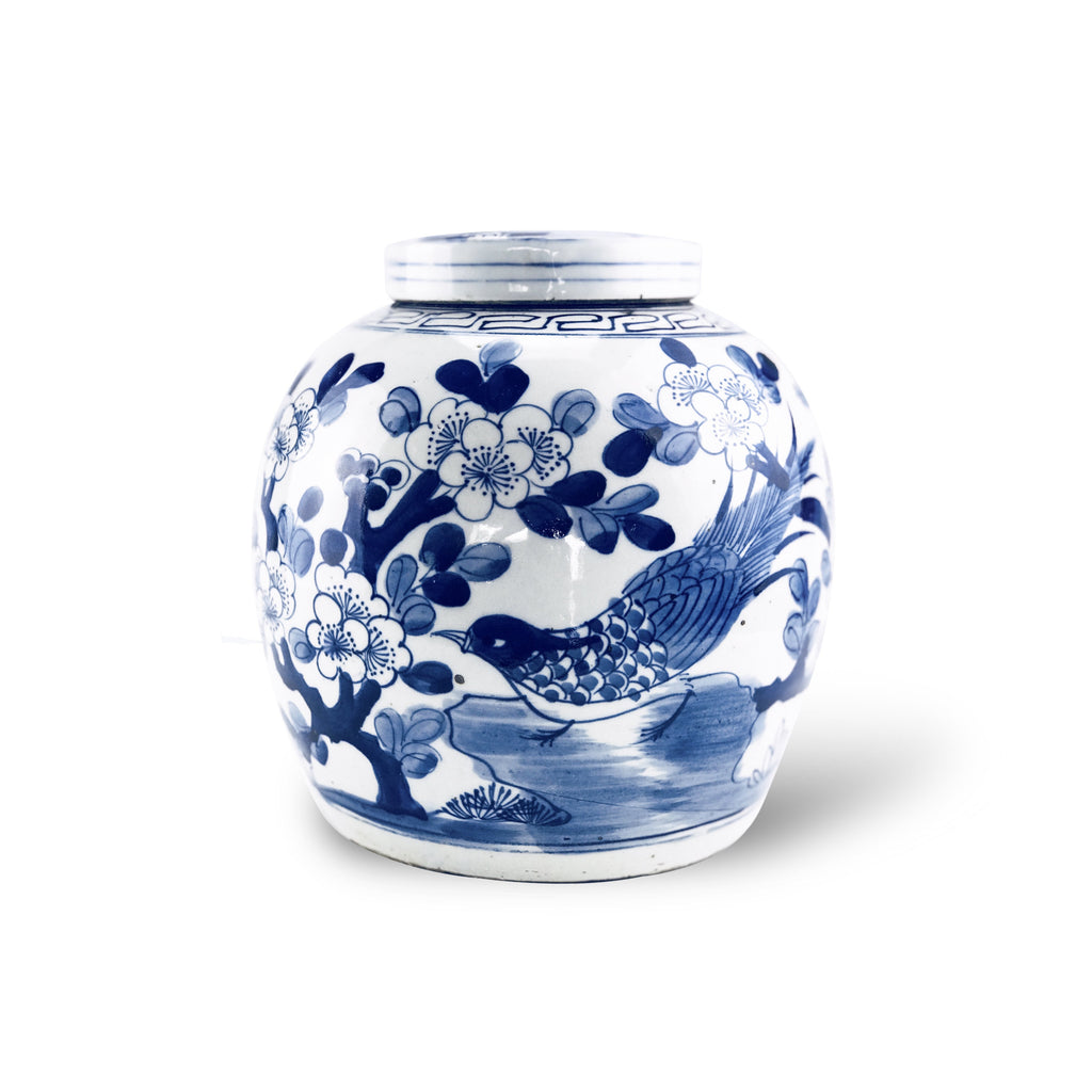 Blossom and Bird Ginger Jar - Karavanhk