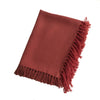 Red Fringed Tablecloth - Karavanhk