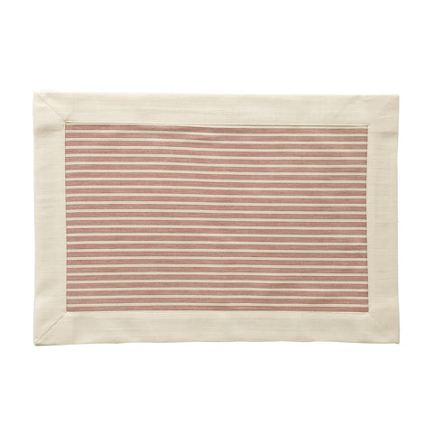 Red Striped Placemats, Set of 4 - Karavanhk