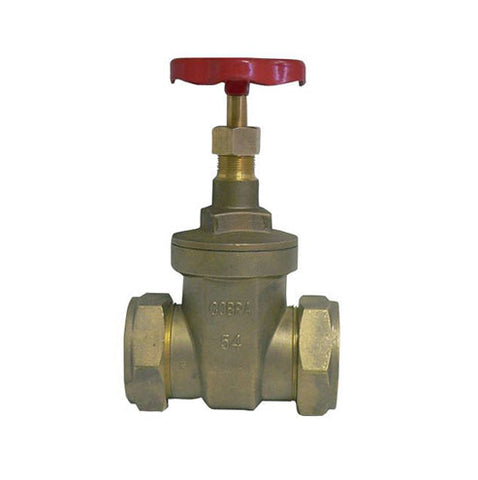 Cobra Green Steel Gate Valve 15mm CxC