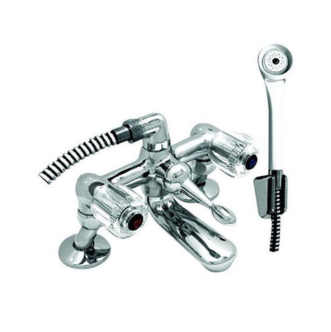 Cobra Stella Bright Bath Mixer with Diverter and Handshower