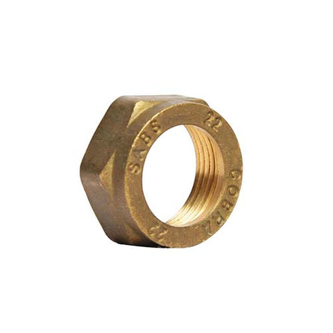Cobra Compression Spare Cap Nut - 15mm