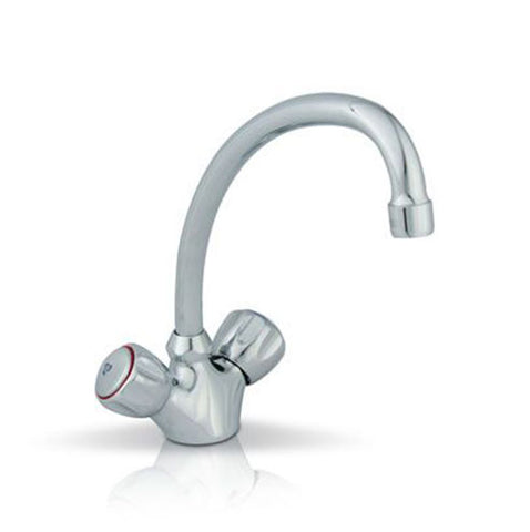 Cobra Metsi Sink Mixer, Two Handles