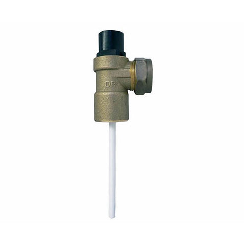Cobra Temperature, Pressure and Safety Valve 600KPa
