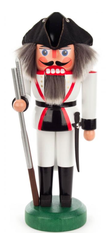 Nutcracker French Soldier 27cm - toybox.ae